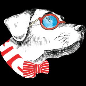 Sweet cute summerglass dog Tee