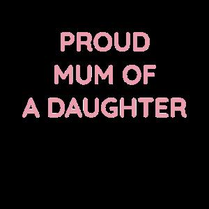 Stolze Mutter einer Tochter