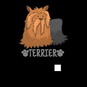 Hund Zeichnung - Terrier