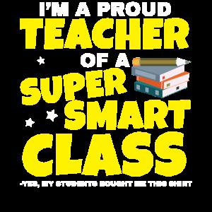 Stolzer Lehrer Eine Super Coolen Klasse Geschenk