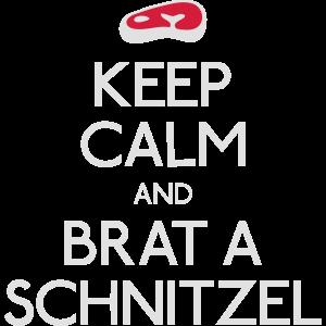 Keep Calm Schnitzel