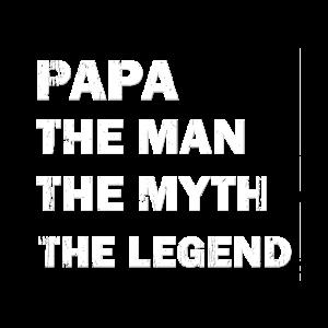 Papa, Man, Myth, Legende
