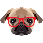 Hipster Mops (Low Poly)