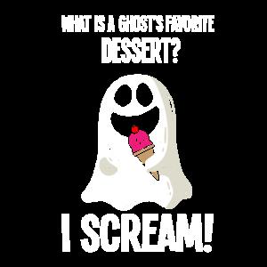 Halloween Geist Wortspiel lustiges Kostüm Geschenk