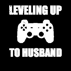 Level Up Ehemann Gamer JGA Junggesellenabschied