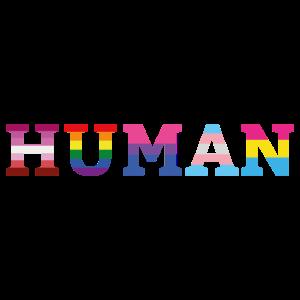 Human Menschen Rechte Geschenk