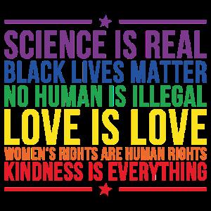 Science Real Spruch Geschenk
