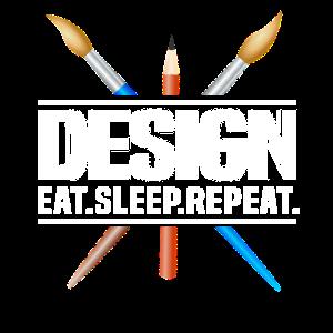 Design. Eat. Sleep. Repeat. No. 12