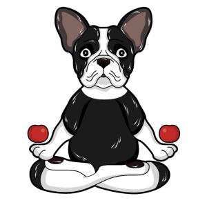 Bulldog Hundemotiv Handyhülle Geschenk