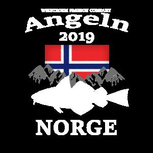 Wikstroem Norwegen Angeln Fisch Berge 2019 grunge
