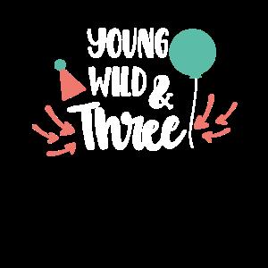 3. Geburtstag Kindergeburtstag Junge Mädchen