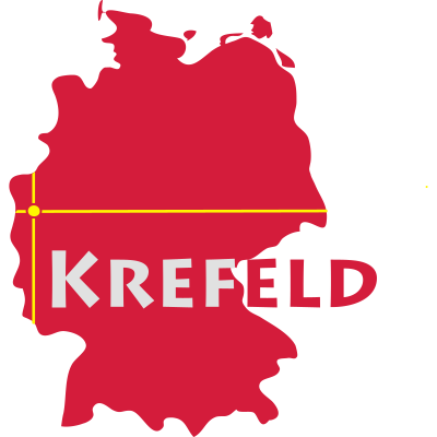 Krefeld - Krefeld ist eine Großstadt am Niederrhein. - Uerdingen,Ruhrgebiet,Rhein,Niederrhein,Krefeld