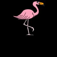 Flamingo Vogel Tier Vogelliebhaber Sommer Geschenk