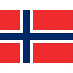 norge Norwegenflagge