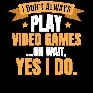 Ich Spiele Immer Videospiele