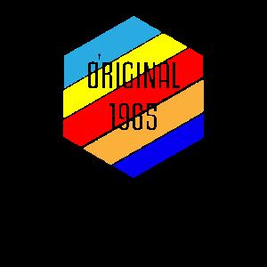 Original 1965 Geboren 54. Geburtstag 54 Jahre Alt