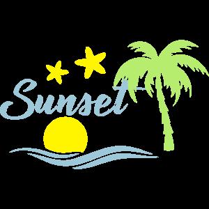 Sunset beach 1