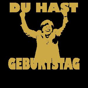 Merkel jubelt zum Geburtstag