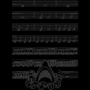 Jaws Titelsong Noten