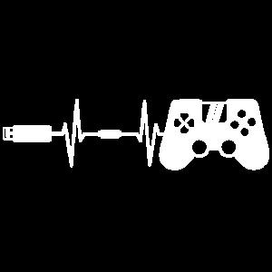 Gaming Controller Gamepad Herzschlag
