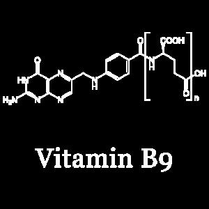 Folsäure, Vitamin B9, Strukturformel, Chemie