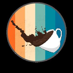 Retro Vintage Kaffee Cafe Tasse Lustig Geschenk