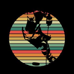 Retro Vintage Eishockey Geschenk Shirt