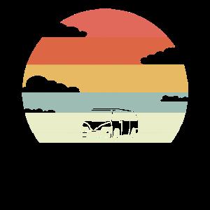 Retro Campervan Geschenk | Caravan Camping Vanlife