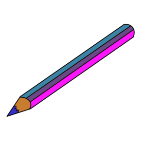 Bunter Stift