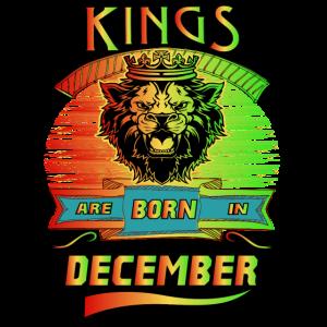 Könige werden im Dezember geboren