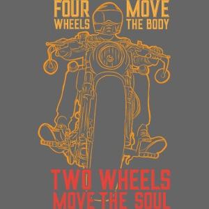 Kaksi pyörää liikuttaa sielua