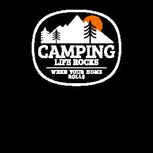 Wohnwagen Camping lustige Sprüche Geschenk