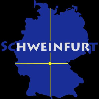 Schweinfurt - Schweinfurt in Bayern. - Unterfranken,Schweinfurt,Schweifädd,Mainfranken,Bayern