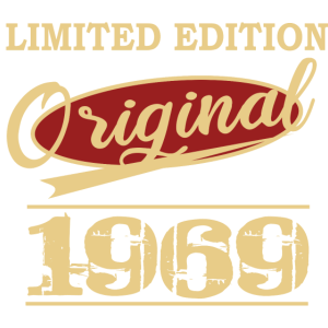 Limited Edition 1969 Geburtstag Geschenkidee 50ter