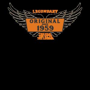 Jahrgang 1959 - 60. Geburtstag The Myth The Legend