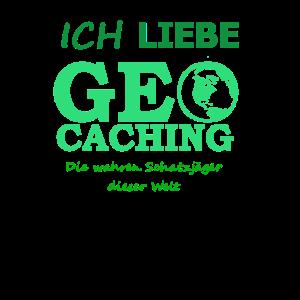 Ich liebe Geocaching