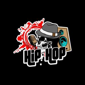 Hip Hop Skull - Schädel