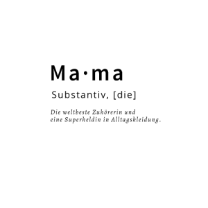Mama Substantiv Muttertagsgeschenk