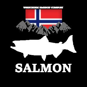 Wikstroem - Norwegen Angeln Lachs Berge
