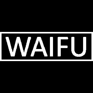 WAIFU Ehefrau Balken Manga Overlay Geschenk Idee