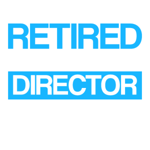 Regisseur im Ruhestand Rente Geschenk