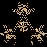 Triangle Moon - Geometric