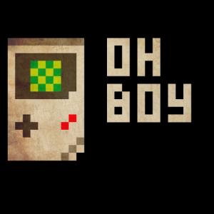 "Retro-Gaming Handheld ""oh boy"""