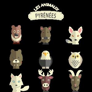 Pyrenäen Tiere