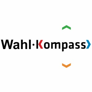 Wahl-Kompass Logo schwarz