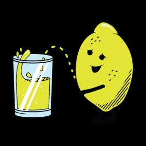 crazy Lemon Pee Verrückte Pinkelde Zitrone Saft