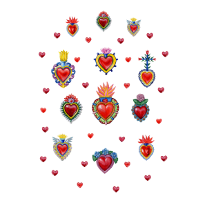 Mexikanische Heilige Herzen # 1
