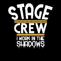 Stage crew, Bühnenmitarbeiter, Roadie Geschenk