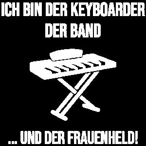 Keyboarder und Frauenheld