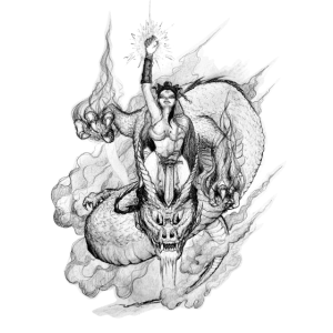 Elf Coast Dragon Warrior